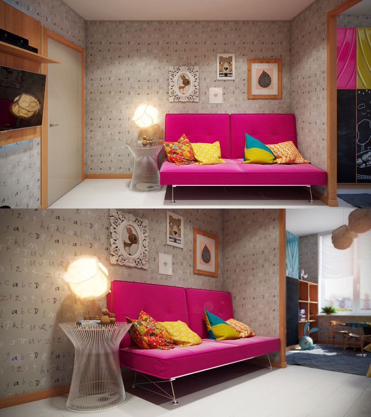 Best Bright And Colorful Kids Room Designs With Whimsical With Pictures