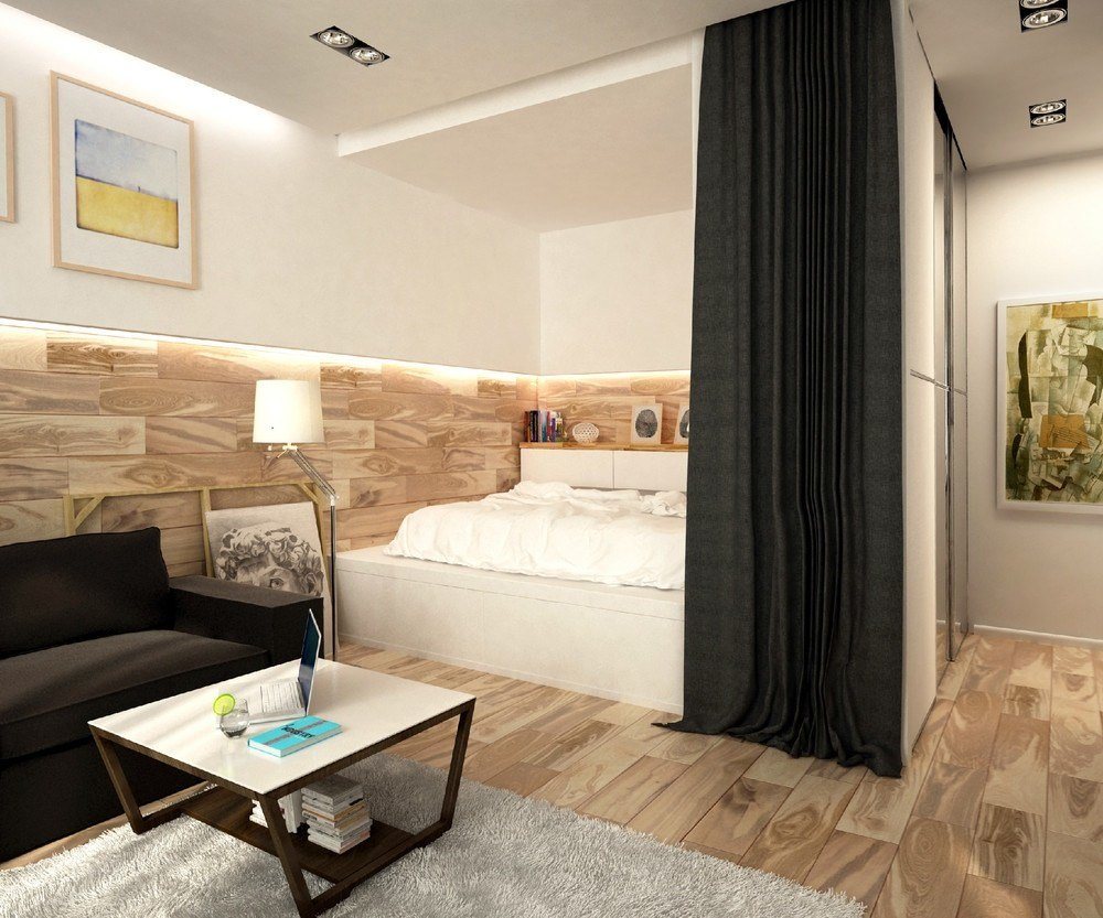 Best 2 Simple Super Beautiful Studio Apartment Concepts For A Young Couple Includes Floor Plans With Pictures