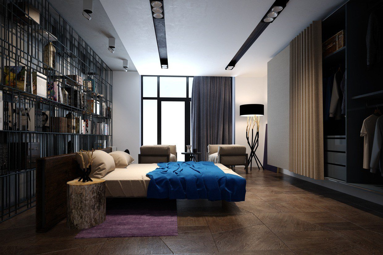 Best Accentuate The Positive In Two Artful Apartments With Pictures