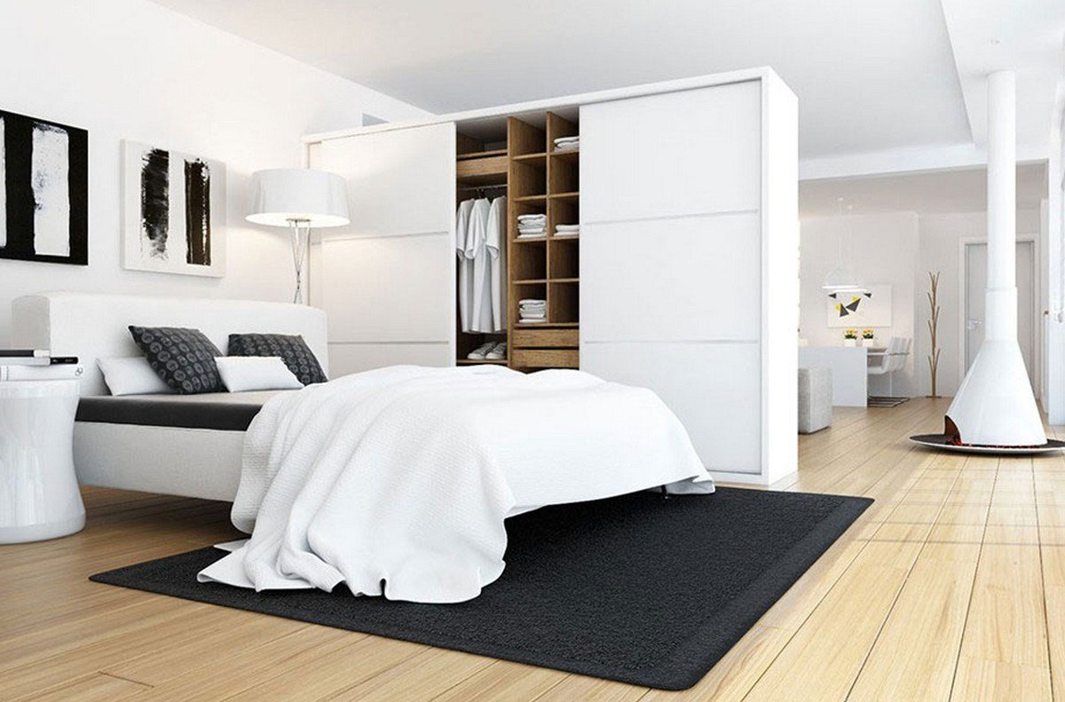 Best 20 Beautiful Examples Of Bedrooms With Attached Wardrobes With Pictures