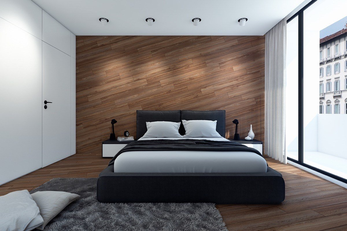 Best 11 Ways To Make A Statement With Wood Walls In The Bedroom With Pictures