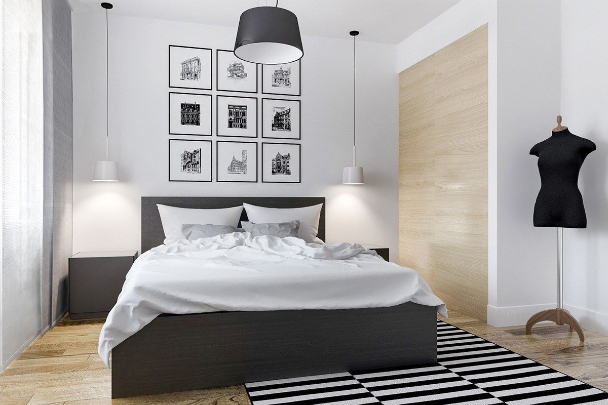Best 40 Beautiful Black White Bedroom Designs With Pictures