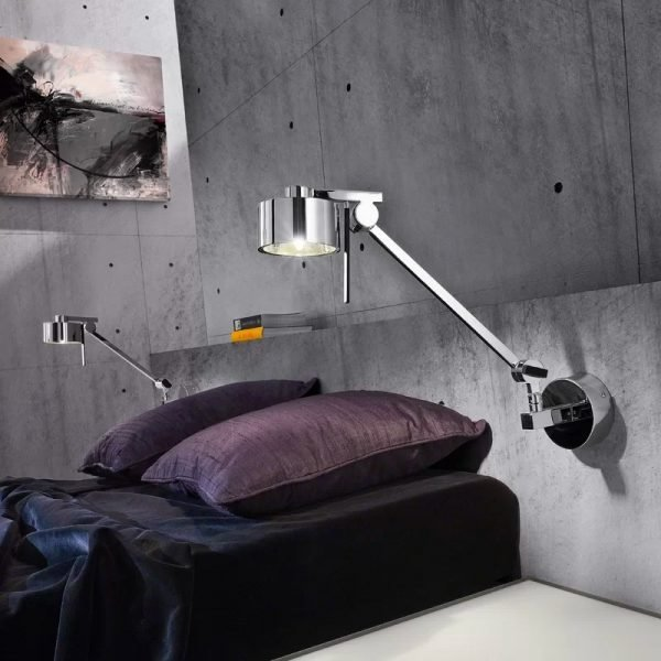 Best 40 Beautiful Swing Arm Wall Lamps And Sconces With Pictures