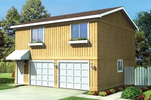 Best Two Bedroom Apartment Garage Building Plans Only With Pictures