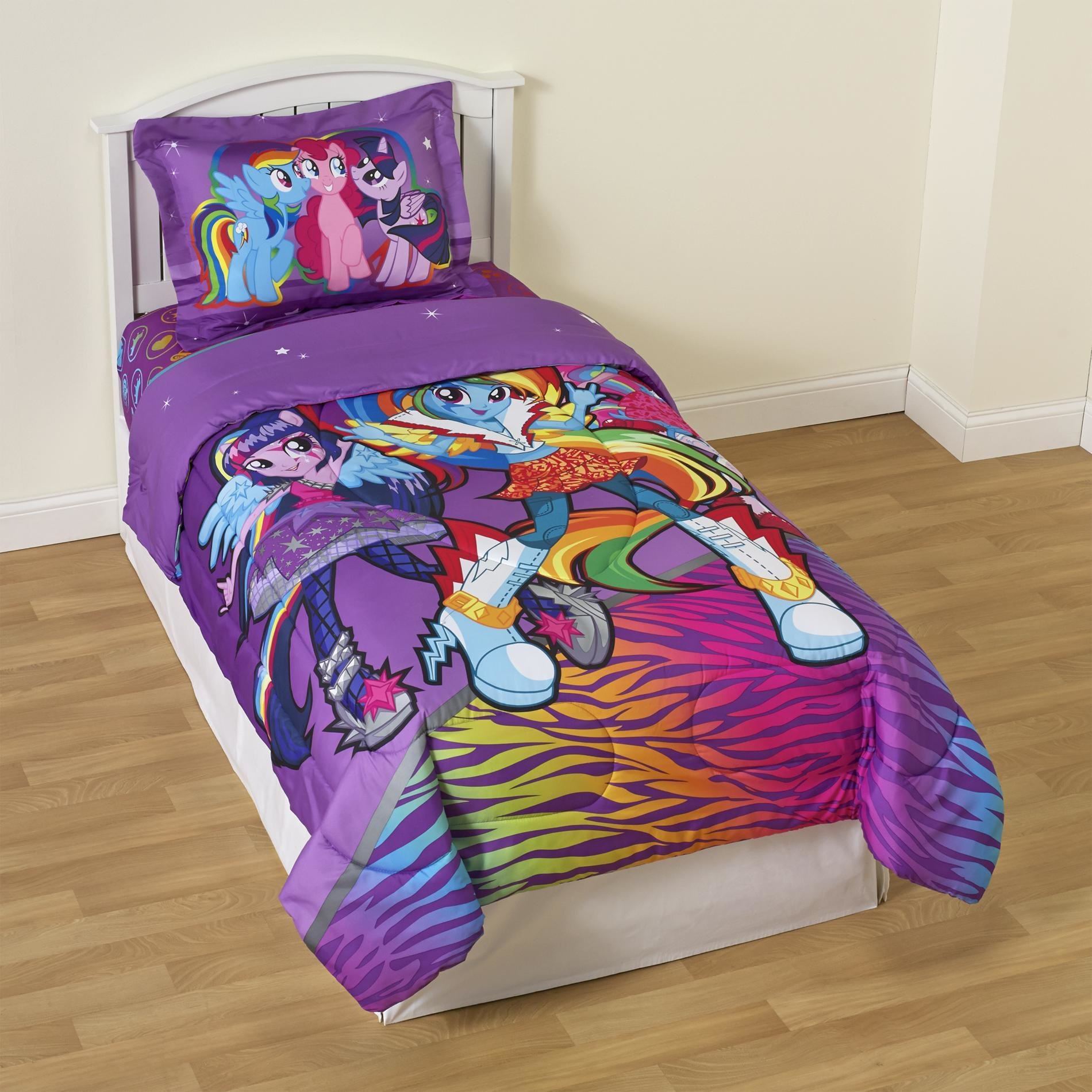 Best My Little Pony Girl S Twin Reversible Comforter Sham With Pictures