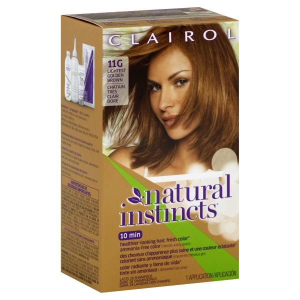 Free Clairol Clairol Natural Instincts 11G Amber Shimmer Wallpaper