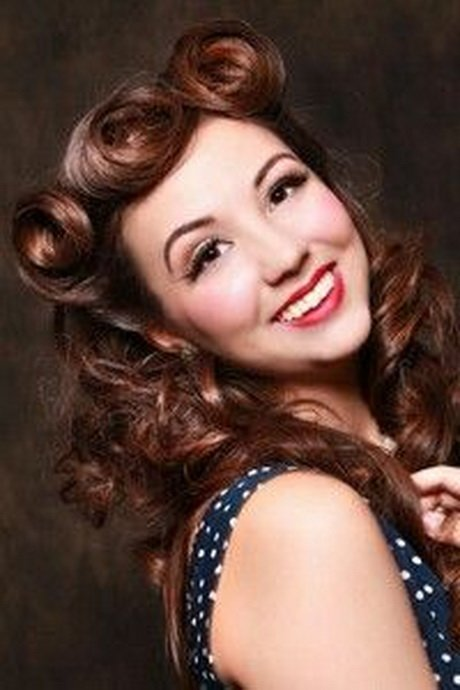 Free 50S Hairstyles For Long Hair Wallpaper
