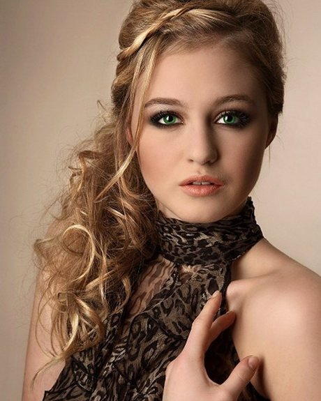 Free Easy Party Hairstyles For Long Hair Wallpaper