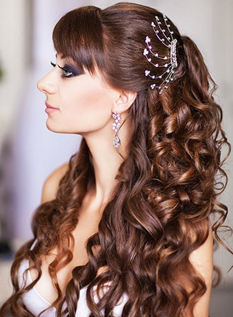 Free Beautiful Bridal Hairstyle Wallpaper