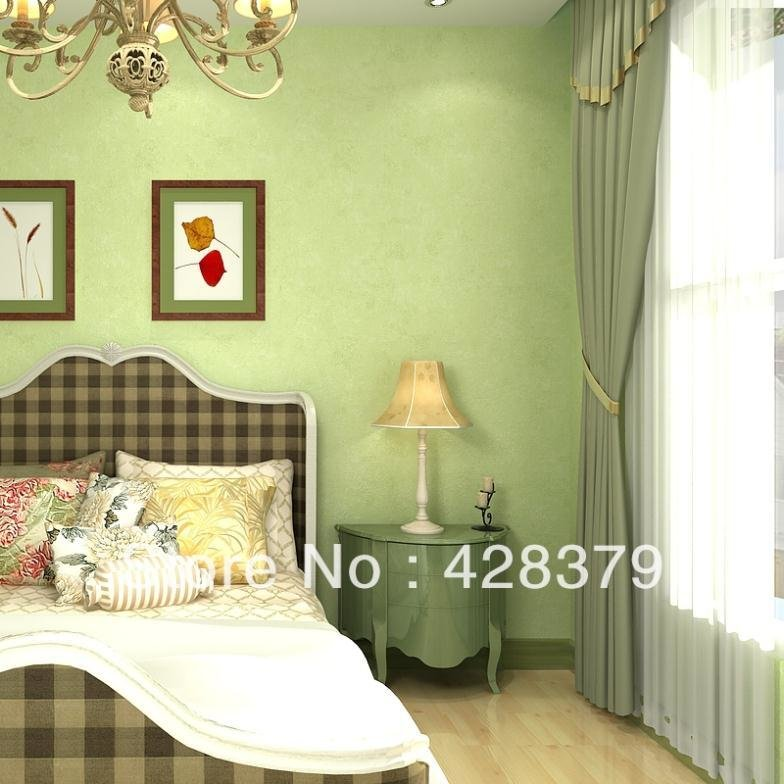 Best Non Woven Wallpaper Bedroom Living Room Modern With Pictures