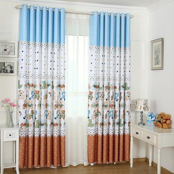 Best New Arrival Printed Window Blackout Curtains For Children With Pictures