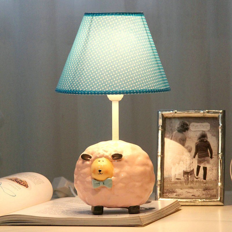 Best Sheep Creative Fashion Children S Room A Small Lamp Table With Pictures