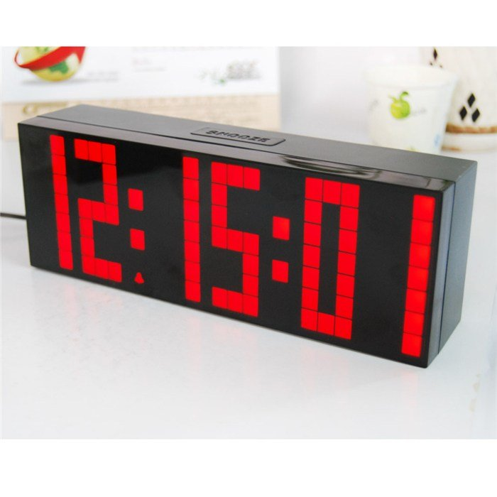 Best Digital Large Digit Led Snooze For Bedroom Alarm Clock With Pictures