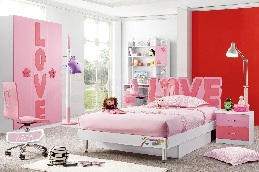 Best Hot Sale China Modern Lovely Kid Sets Furniture Girls With Pictures