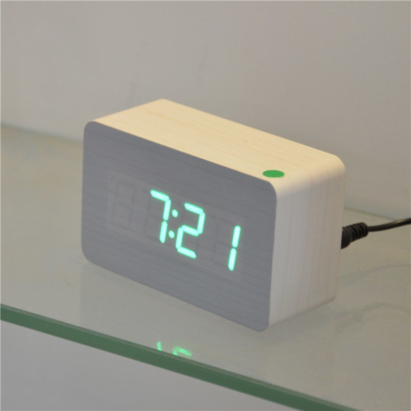 Best Home Decor Table Clocks Red Led Digital Clock Bedroom With Pictures