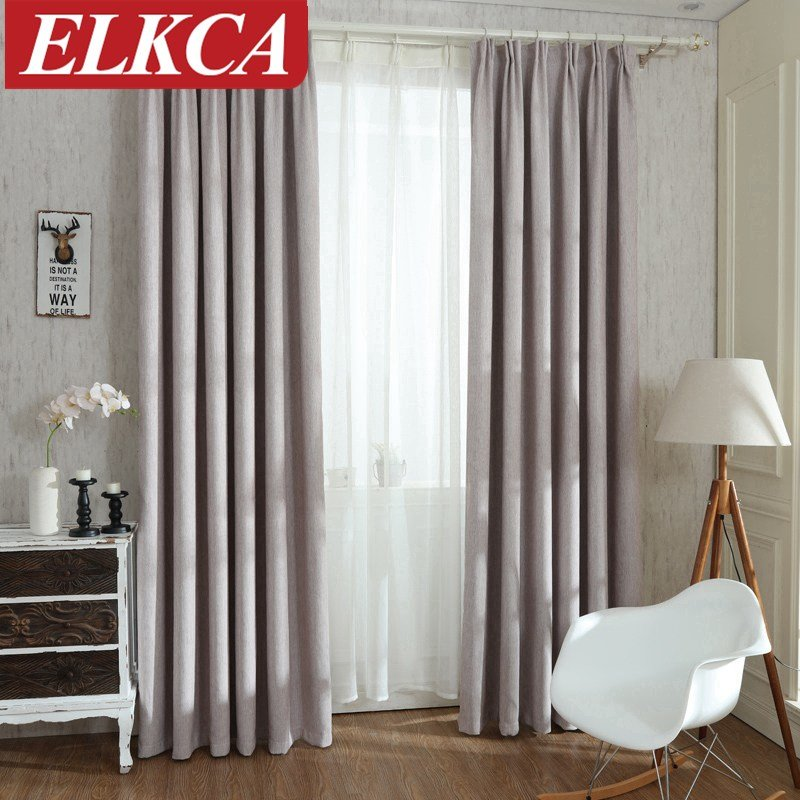 Best Solid Colors Blackout Curtains For The Bedroom Faux Linen With Pictures