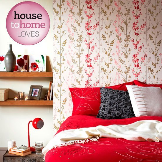 Best Floral Wallpaper From B Q Wallpapers Bedroom Decorating Ideas Ideal Home With Pictures
