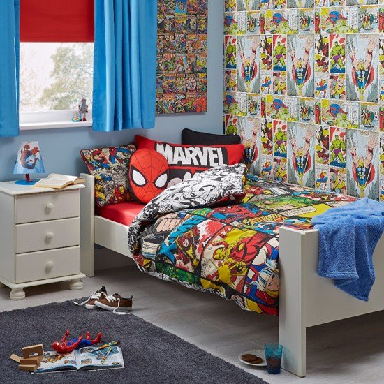 Best Marvel Bedroom Ideas Ideal Home With Pictures