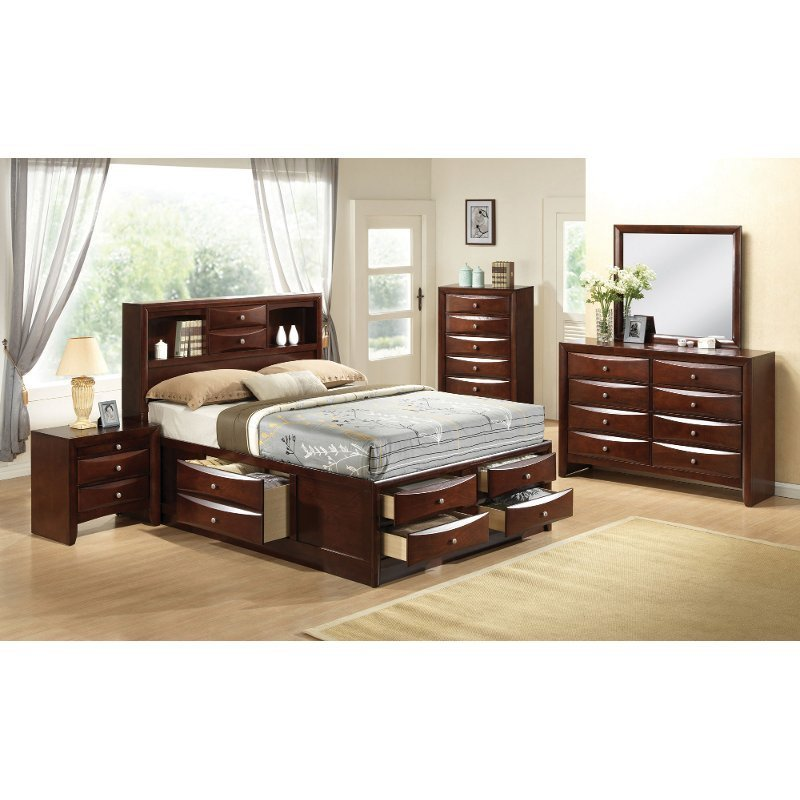 Best Emily 7 Piece King Bedroom Set With Pictures