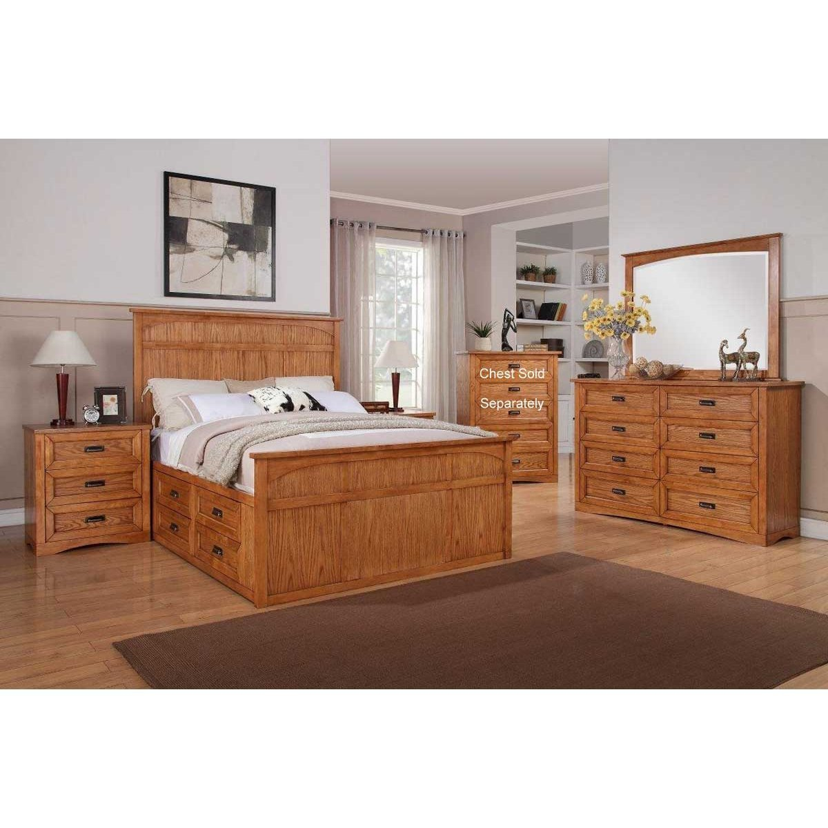 Best Dixie 7 Piece King Bedroom Set Rcwilley Image1 800 Jpg With Pictures