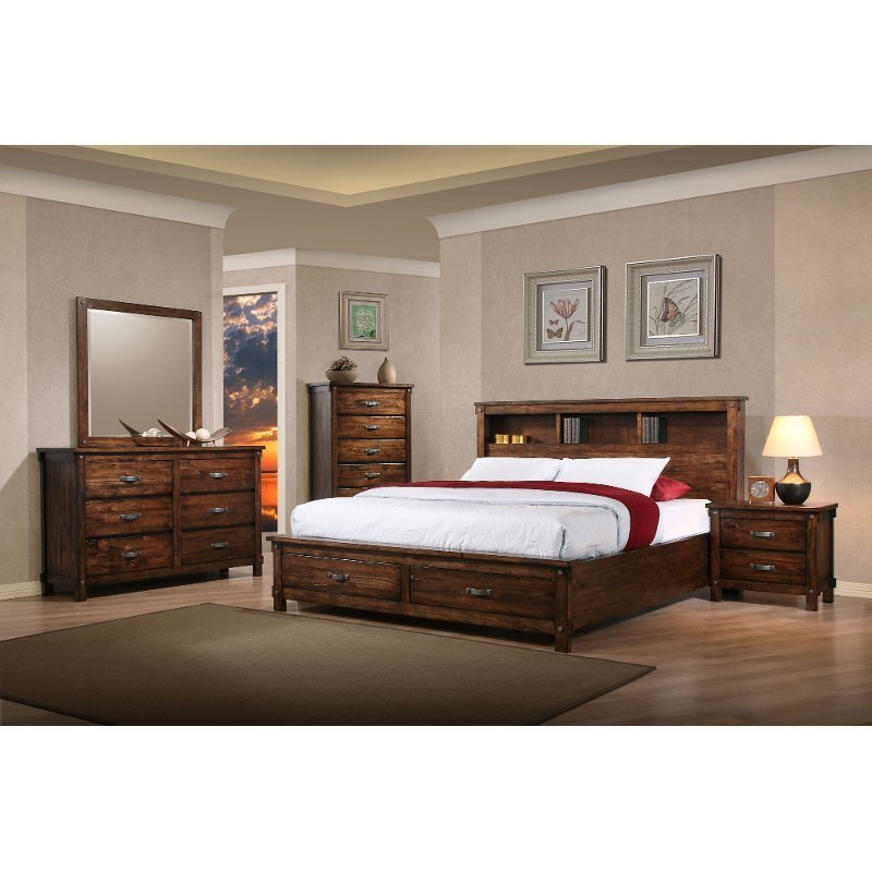 Best Jessie 6 Piece Queen Bedroom Set With Pictures