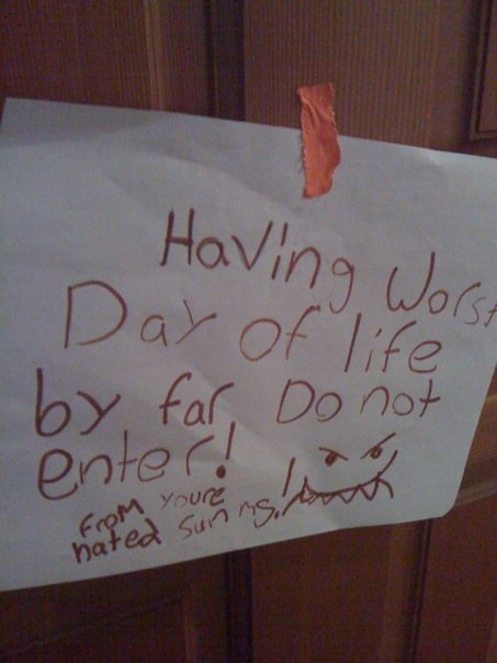 Best Notes On Bedroom Doors Stuff Kids Write With Pictures