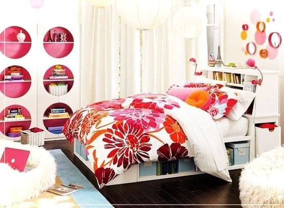 Best Colorful Teenage Girls Room Decor Small House Decor With Pictures