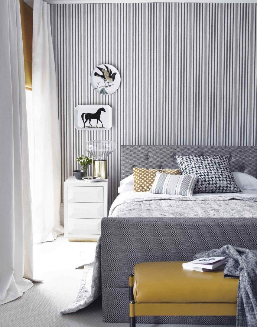 Best Make Your Bedroom Gorgeous With Wallpaper The Room Edit With Pictures
