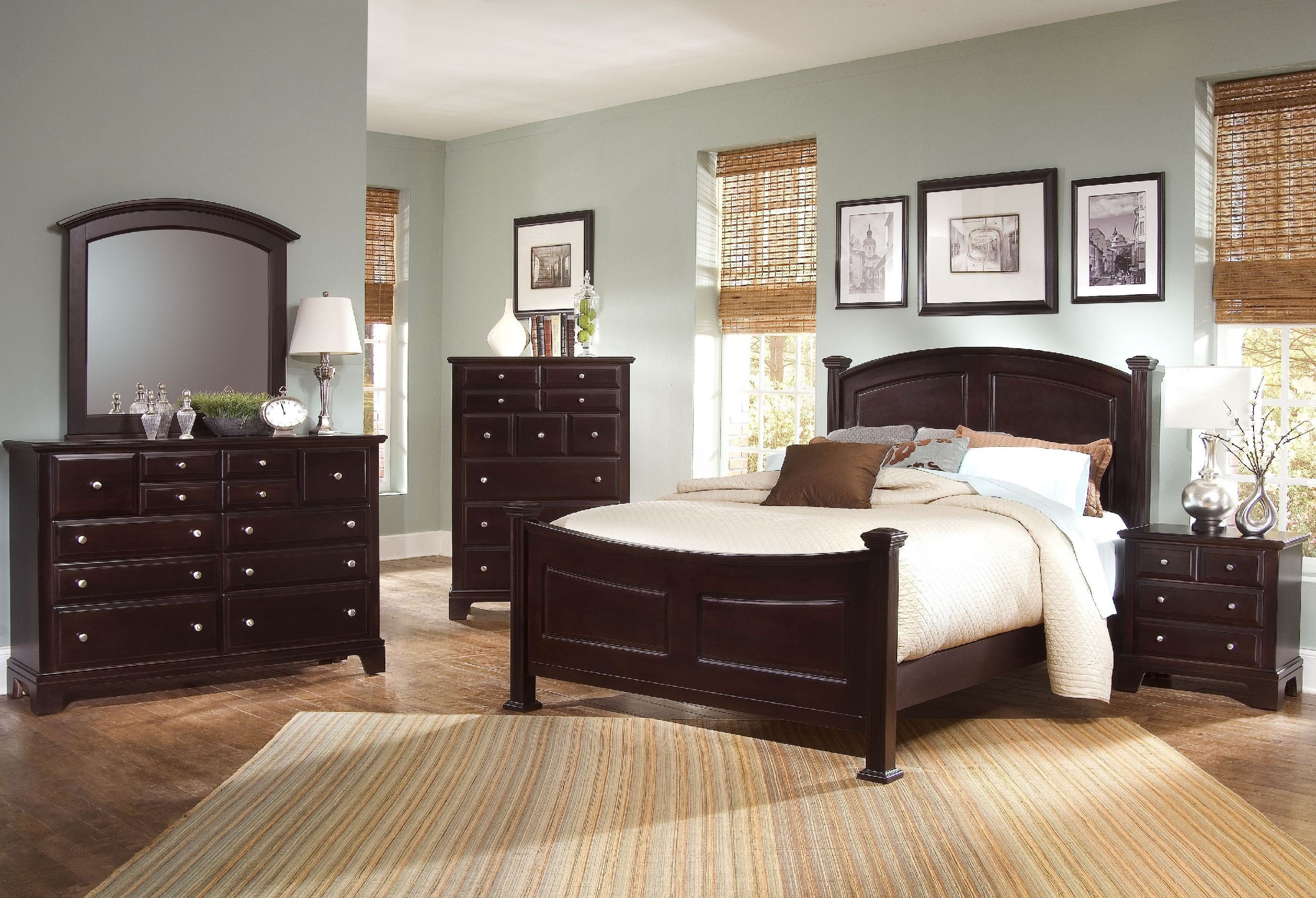 Best Vaughan Bassett Bedroom Triple Dresser Bb4 002 Americana Furniture Waterford And New London Ct With Pictures