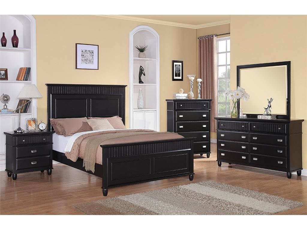 Best Elements International Spencer Black Bedroom Elements With Pictures