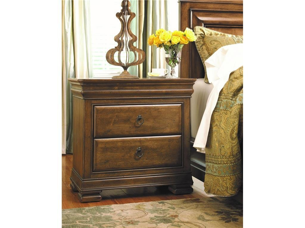 Best Universal Furniture Bedroom Nightstand 071355 North With Pictures