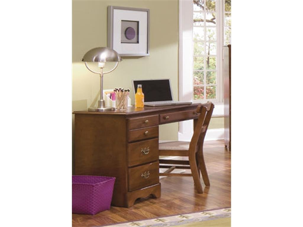 Best Carolina Furniture Works Youth Bedroom Student Desk 181400 With Pictures
