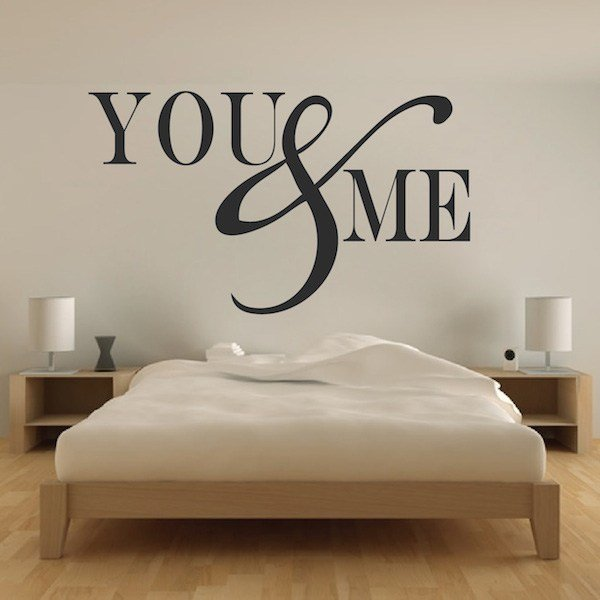 Best Romantic Bedroom Wall Decal Vinyl Mural Sticker You With Pictures