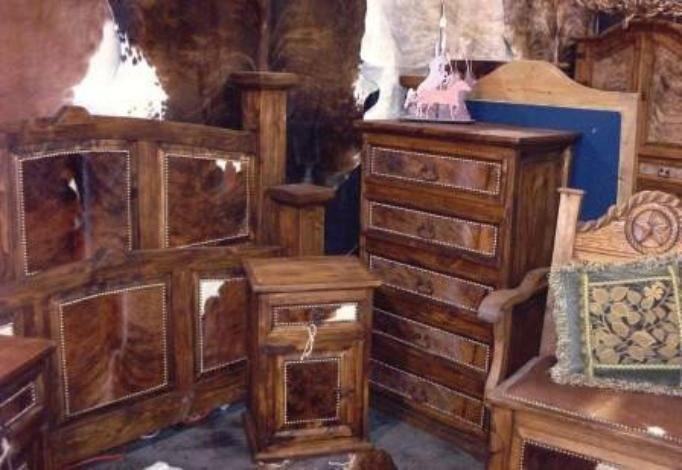 Best Rustic Cowhide Bedroom Furniture Sets Free Shipping With Pictures