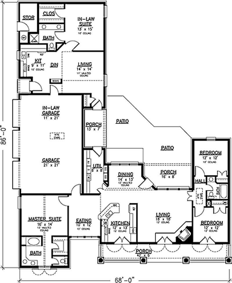 Best Country House Plan 146 2173 4 Bedrm 2464 Sq Ft Home With Pictures