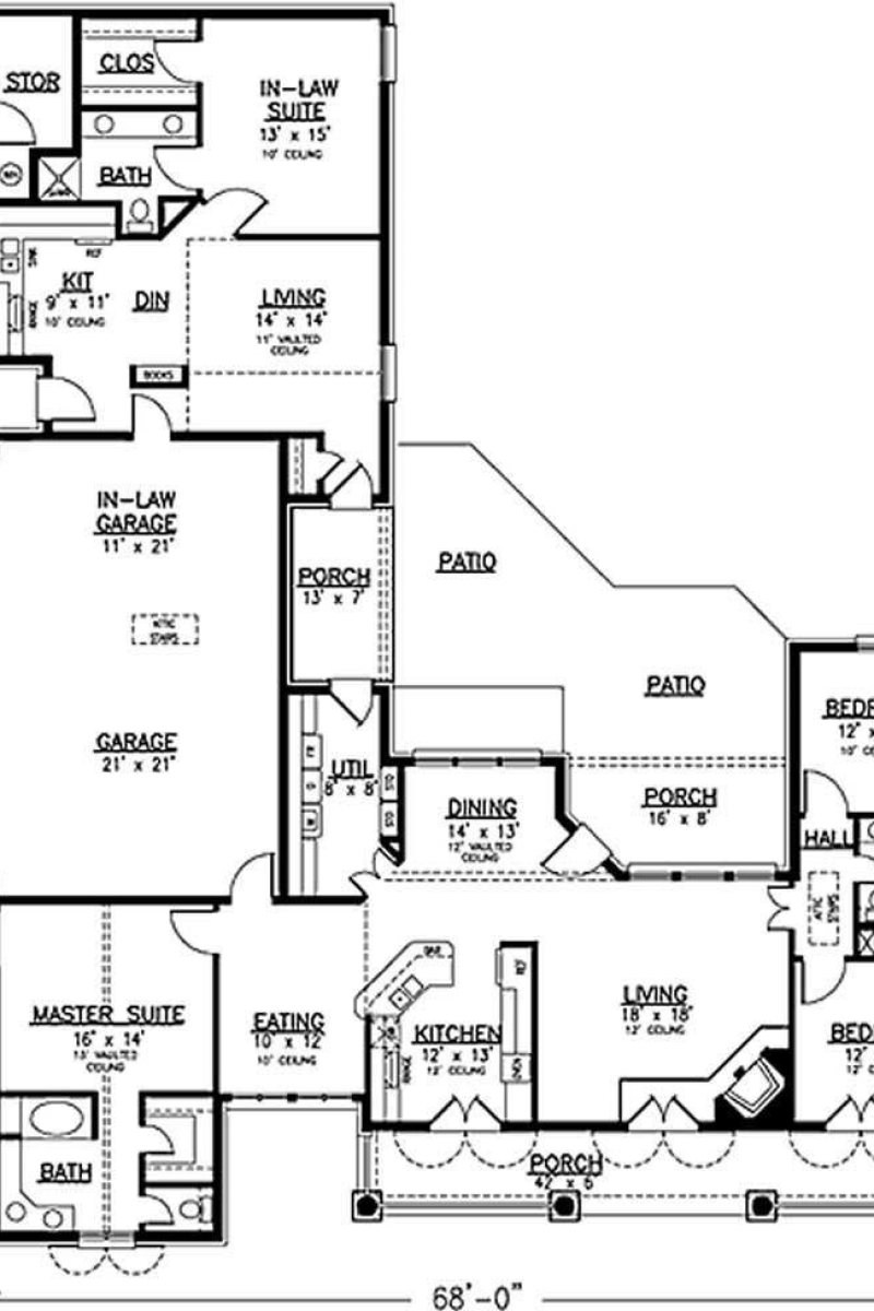 Best Country House Plan 146 2173 4 Bedrm 2464 Sq Ft Home