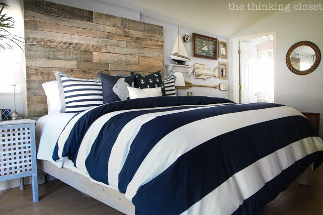 Best Before After Rustic Nautical Master Bedroom Makeover With Pictures