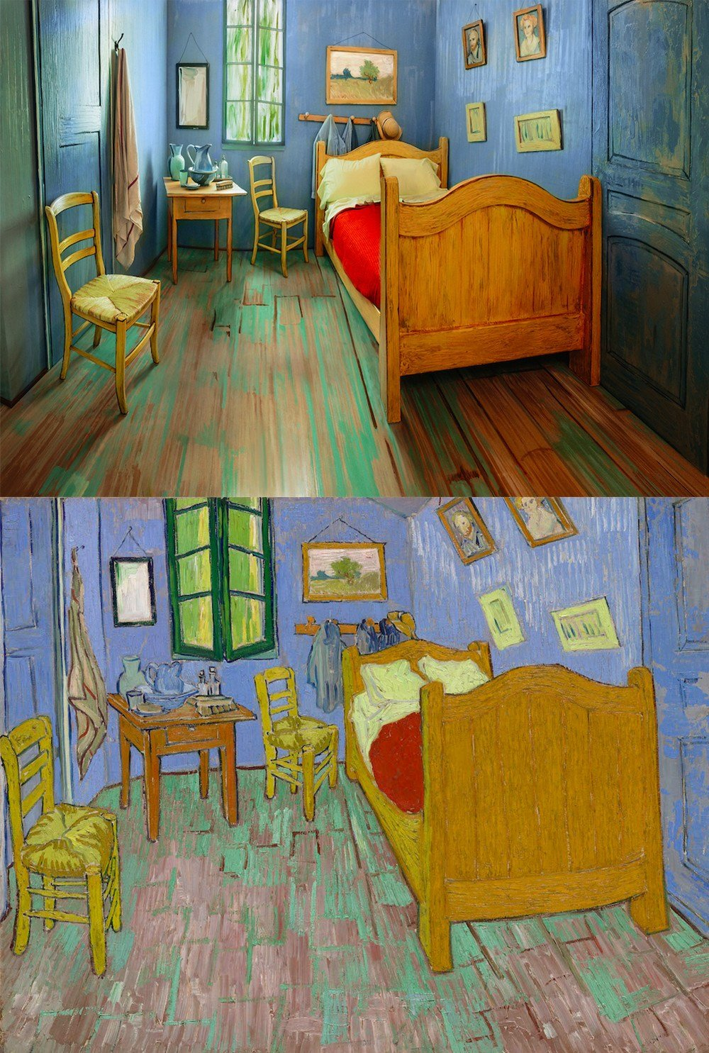 Best The Art Institute Of Chicago Recreates Van Gogh's Famous Bedroom To Be Rented On Airbnb Colossal With Pictures