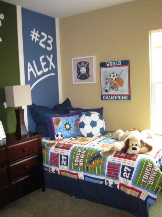 Best 50 Sports Bedroom Ideas For Boys Ultimate Home Ideas With Pictures