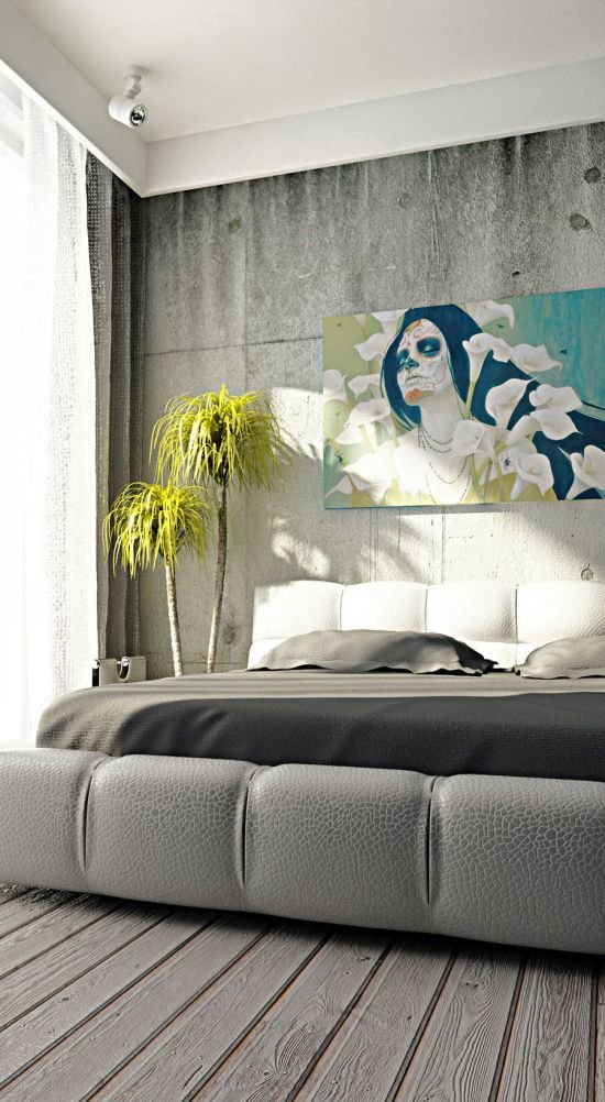 Best 31 Creative Concrete Walls For Bedroom Ultimate Home Idea With Pictures