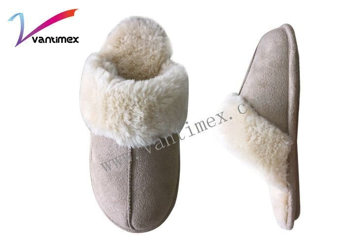 Best Elegant Thick Wool Non Slip Womens Bedroom Slippers With Pictures