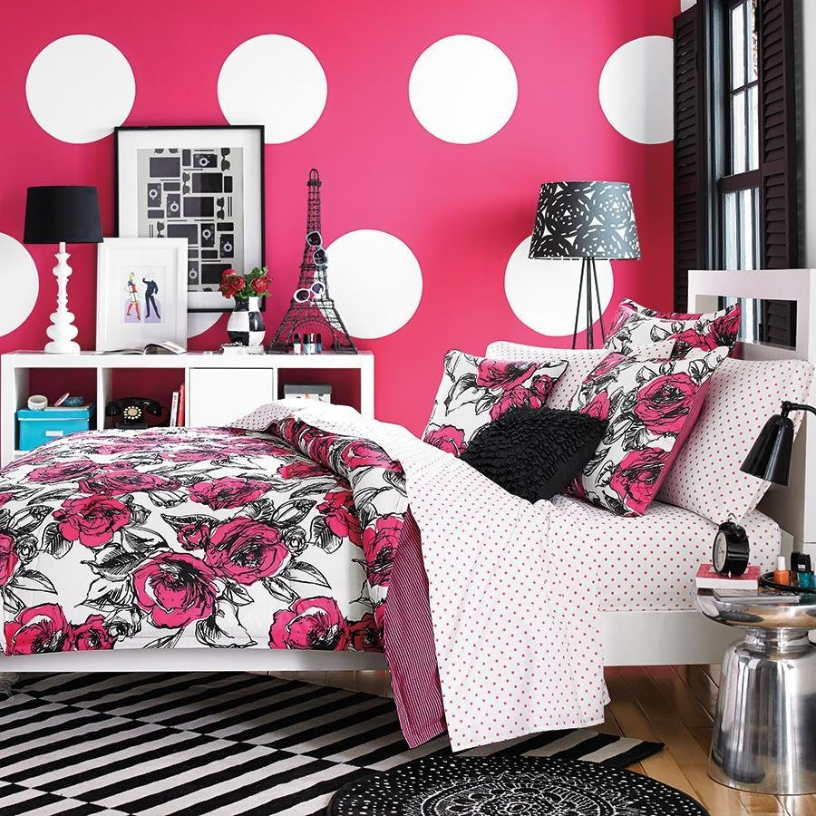 Best Download Pink And White Bedroom Wallpaper Gallery With Pictures