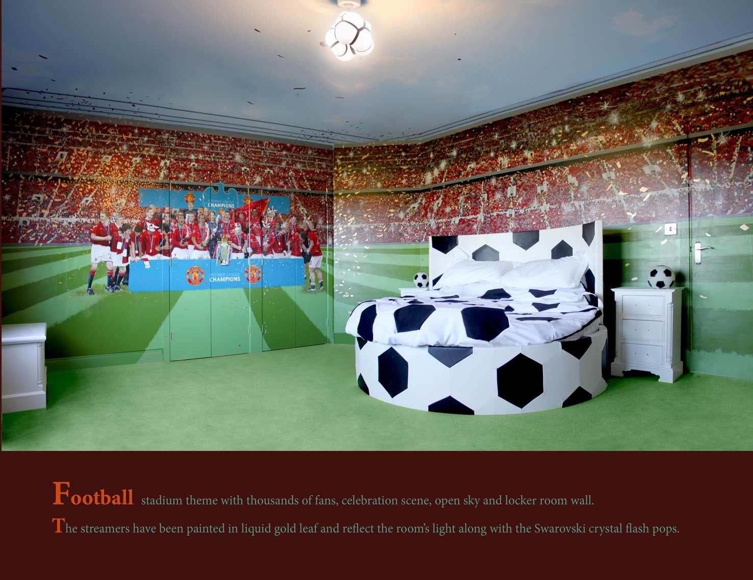 Best Download Sports Bedroom Wallpaper Gallery With Pictures