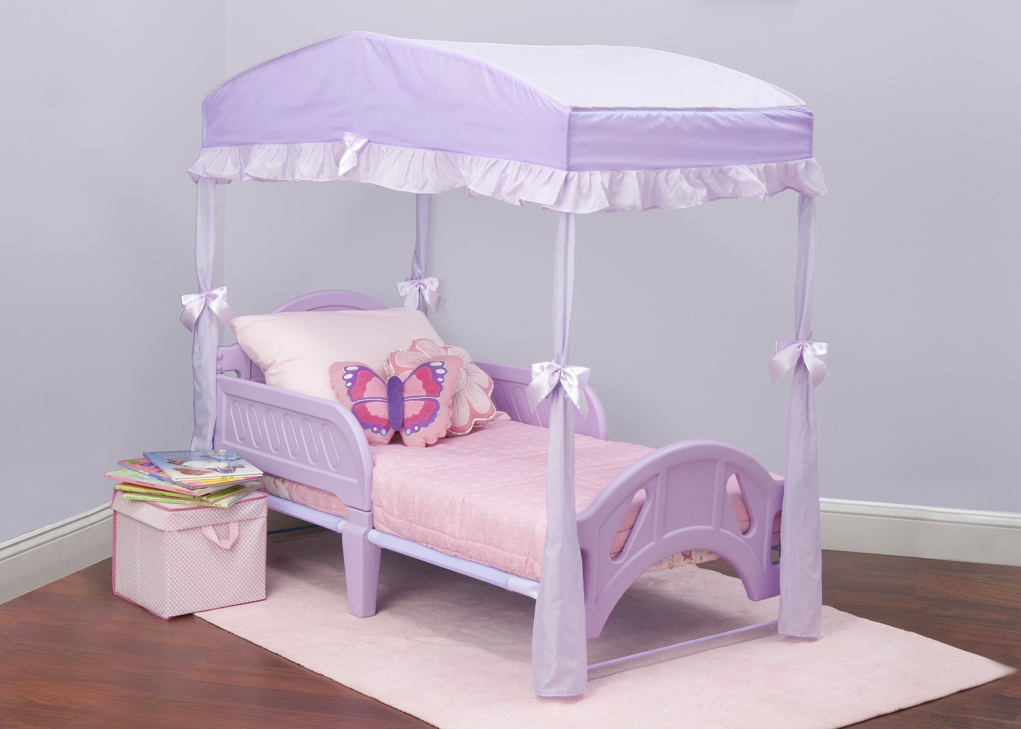 Best Toddler Canopy Bed Set Delta Children Minnie Mouse 3 Piece Toddler Canopy Bedroom Set Sc 1 St With Pictures