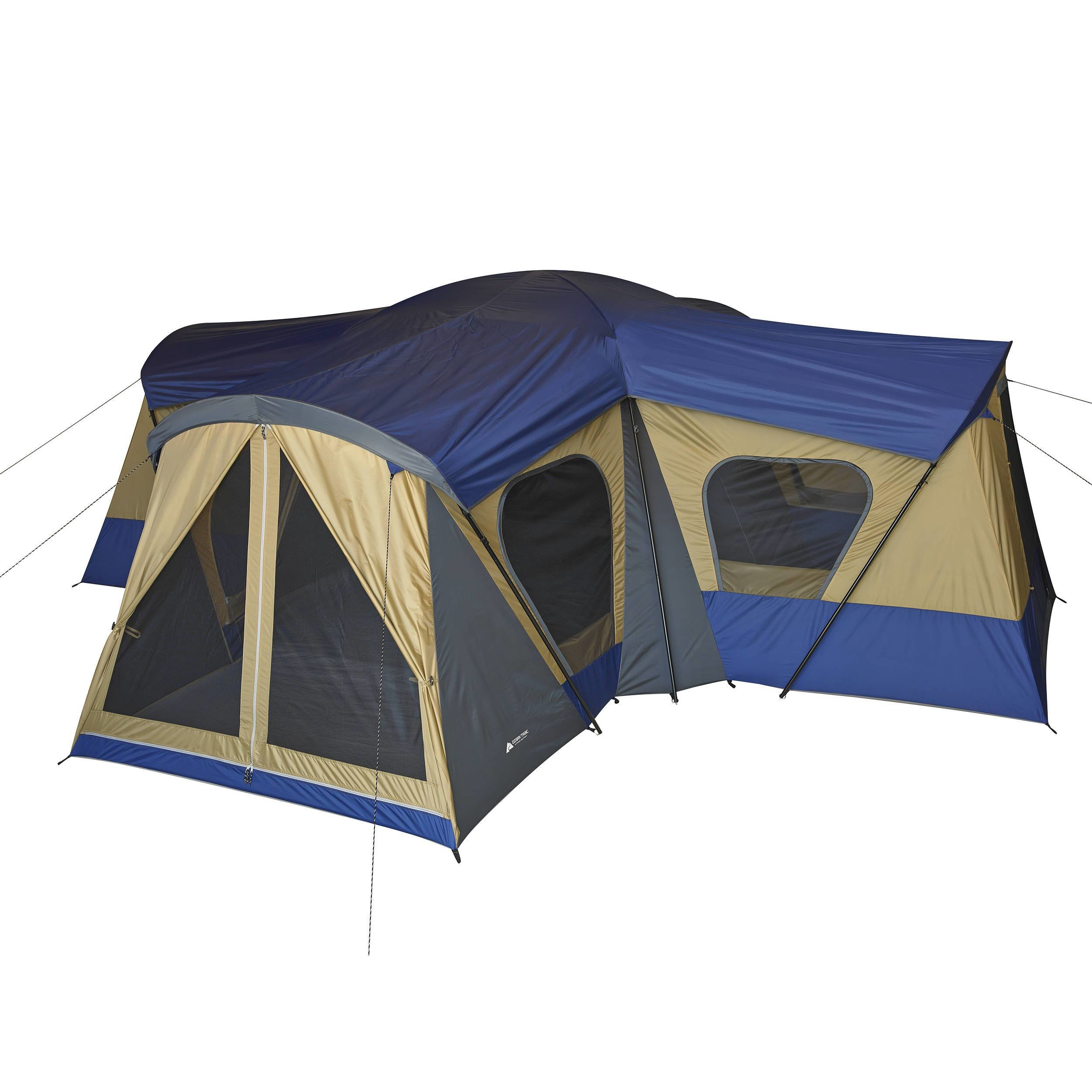 Best Ozark Trail 10 Person 3 Room Vacation Tent With Built In With Pictures
