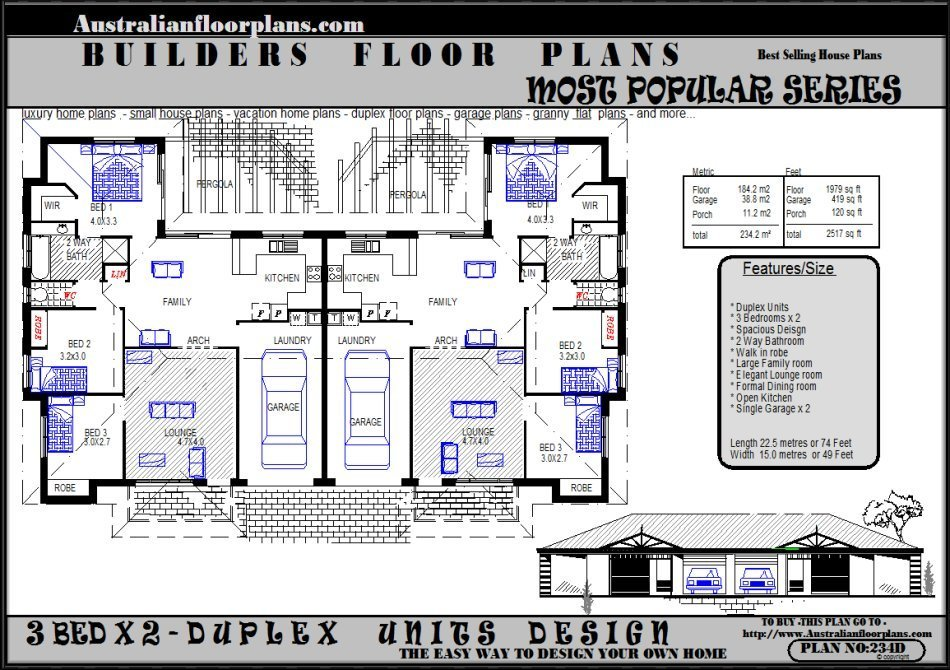 Best Duplex Designs Units Designs 3 Bedroom Ideal Real Estate With Pictures