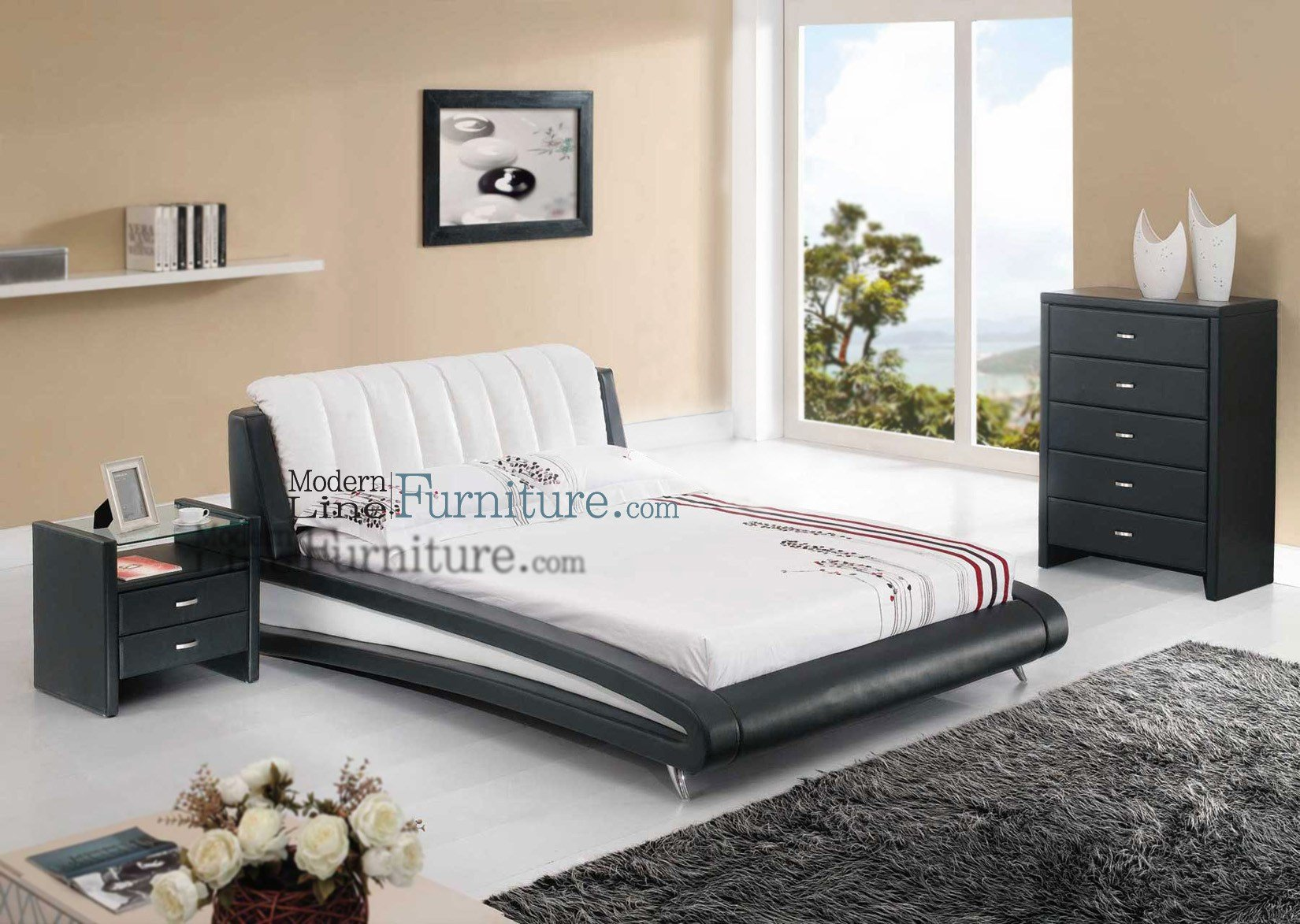 Best Sleek Modern Full Size Bedroom Set Better Home Improvement Www Betterimprovement Com With Pictures
