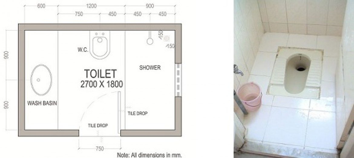 Best Small Indian Toilet Layout With Pictures
