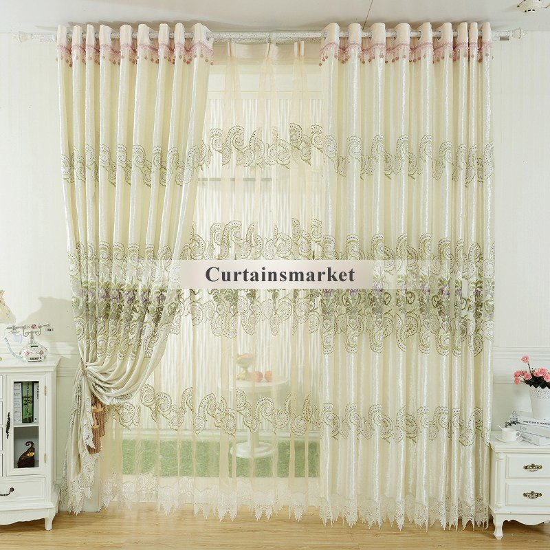 Best Bedroom Fancy Curtains In White Color Of Special Design With Pictures