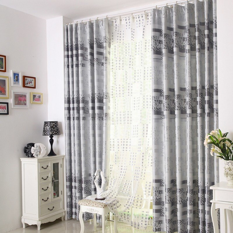 Best Modern Energy Saving Gray Bedroom Curtains With Pictures